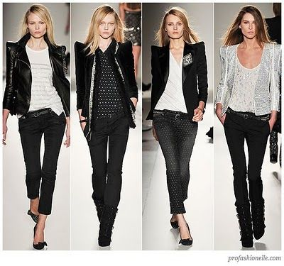 I like these other than the pointy shoulder pads. Balmain