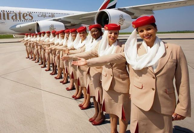 Emirates Airlines Cabin Crew Uniforms Cabin Crew Photos With