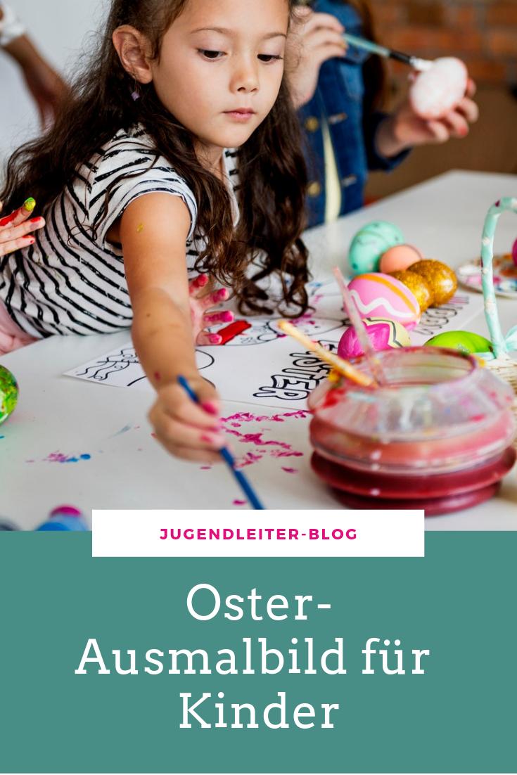 osterausmalbild für kinder › jugendleiterblog  kinder