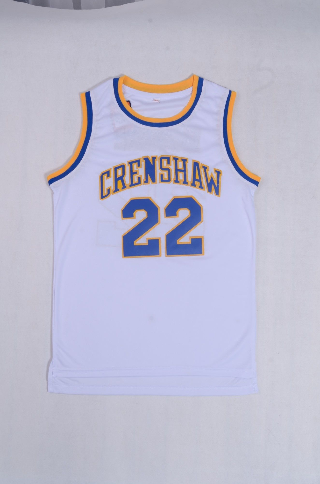 CRENSHAW Wright Basketball Jersey Number 32 Color White Basketball Jersey 2db7888748
