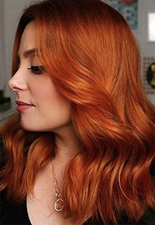 50 Copper Hair Color Shades To Swoon Over Red