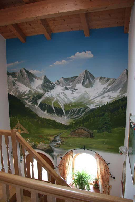 Wandmalerei Und Illusionsmalerei,Landschaft Atelier Izek