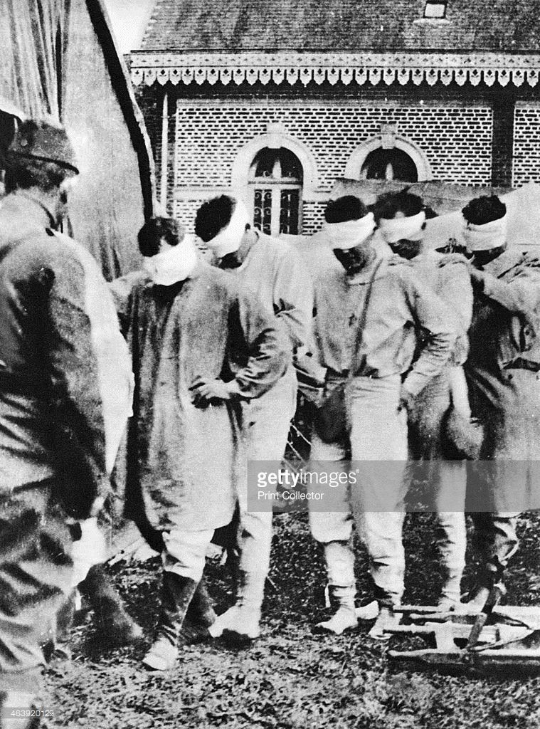 American Prisoners Of War Victims Of German Gas Attacks World