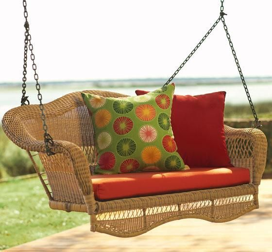 Marvelous Sahara Porch Swing   Outdoor Swings   Patio Furniture   Outdoor |  HomeDecorators.com