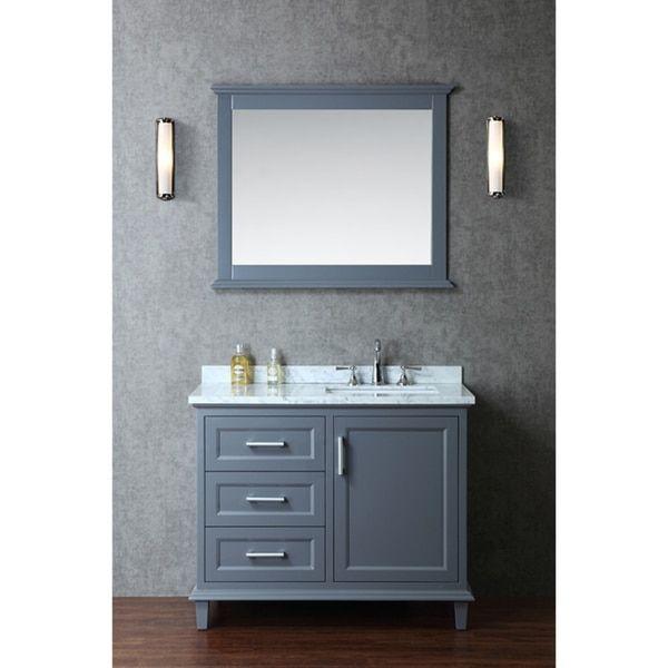 Nantucket Inch Single Sink Bathroom Vanity Set By Ariel