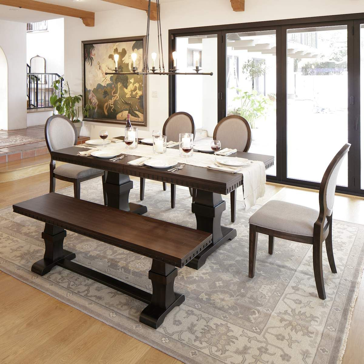 The Berkshire Dining Set Is Elegant And Refined. Dress