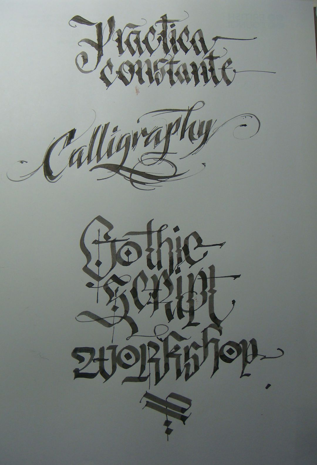 Calligraphy Types II