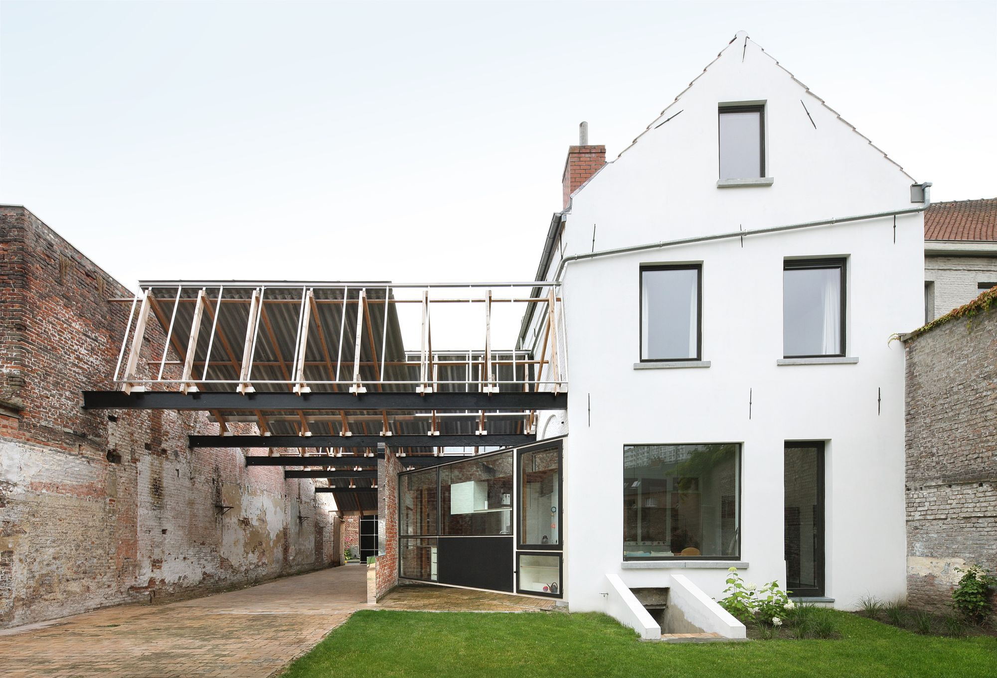 architecten de vylder vinck taillieu House Sanderswal Gent 1