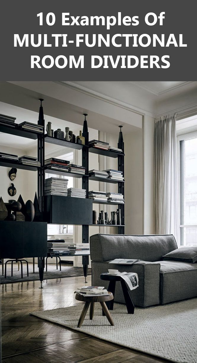 examples of multifunctional room dividers interior design