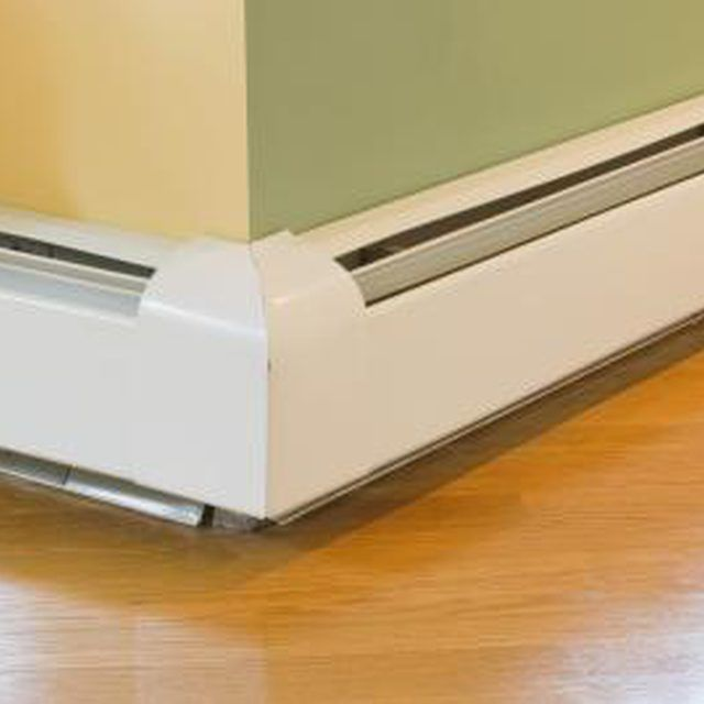 Minimalist Paint can help refresh the look of old baseboard heaters Awesome - Cool baseboard Idea