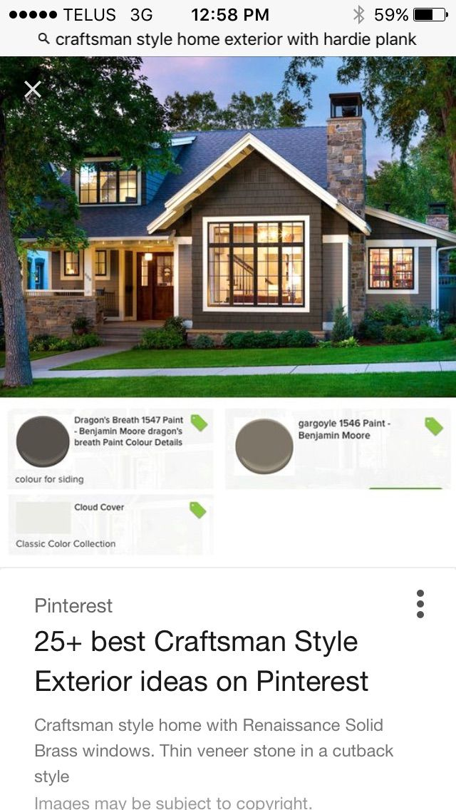 craftsman style exterior by christine turner on exterior on benjamin moore exterior paint visualizer id=87852