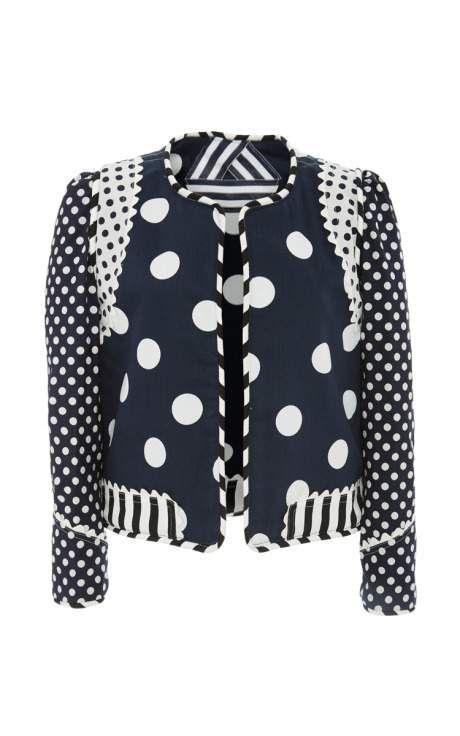 One Of A Kind Yoko Reversible Jacket by Alix of Bohemia for Preorder on Moda Operandi