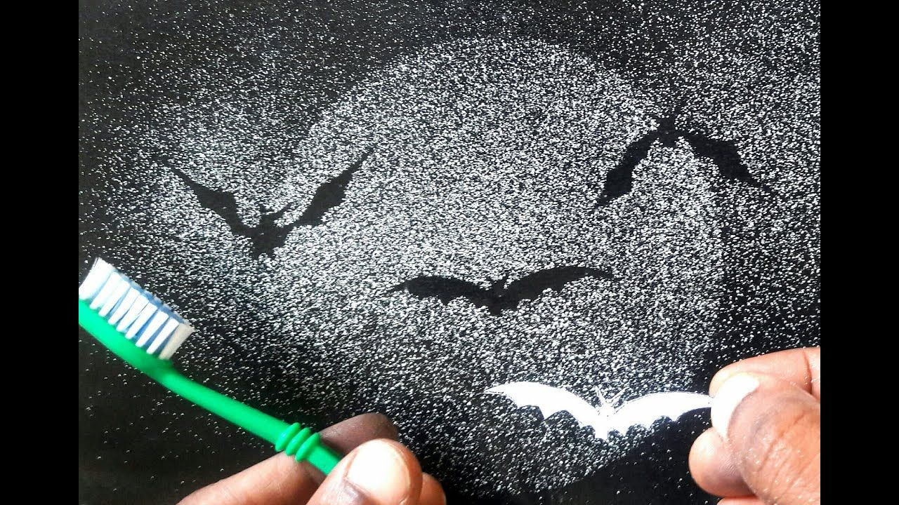 Excellent Spray Painting With Tooth Brush Bats You Should Know
