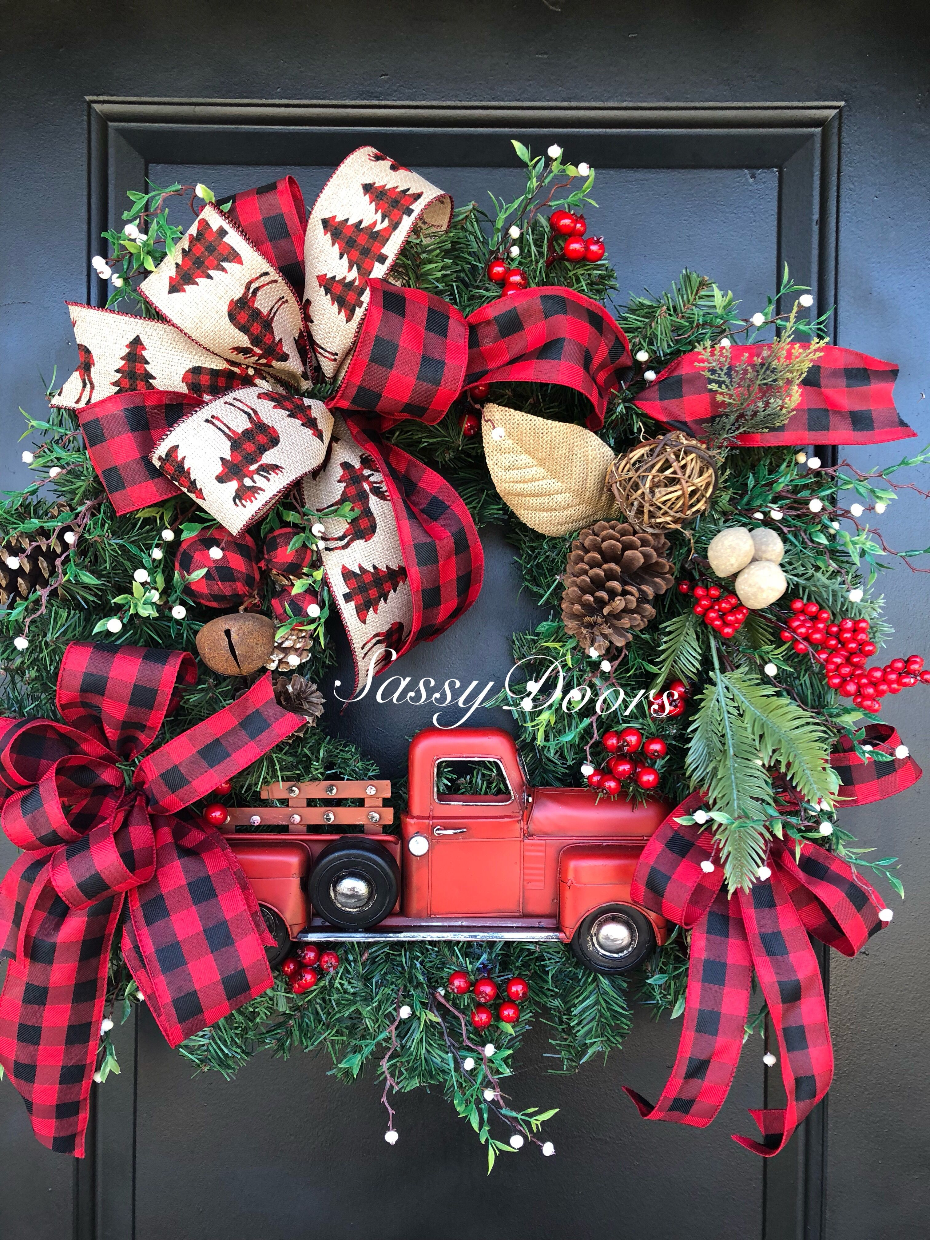 Pin by Sassy Doors on Rustic Christmas Pinterest