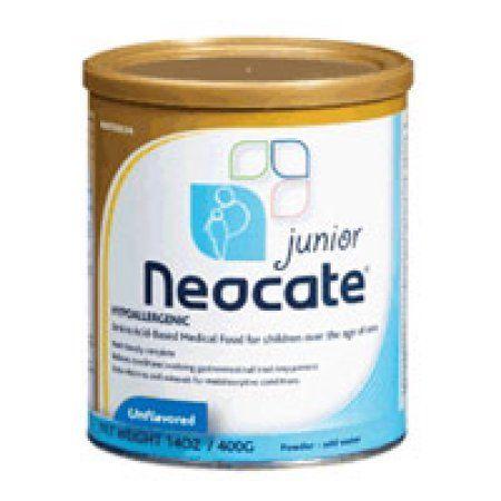 neocate junior formula powder unflavored hypoallergenic 400 gm multicolor
