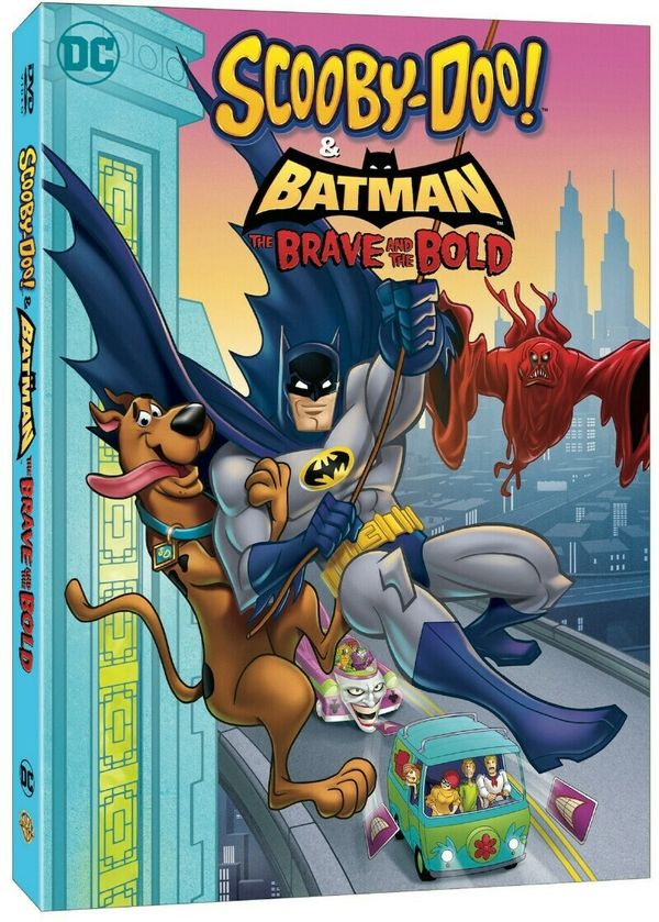 Scooby Doo Batman The Brave And The Bold Trailer Release