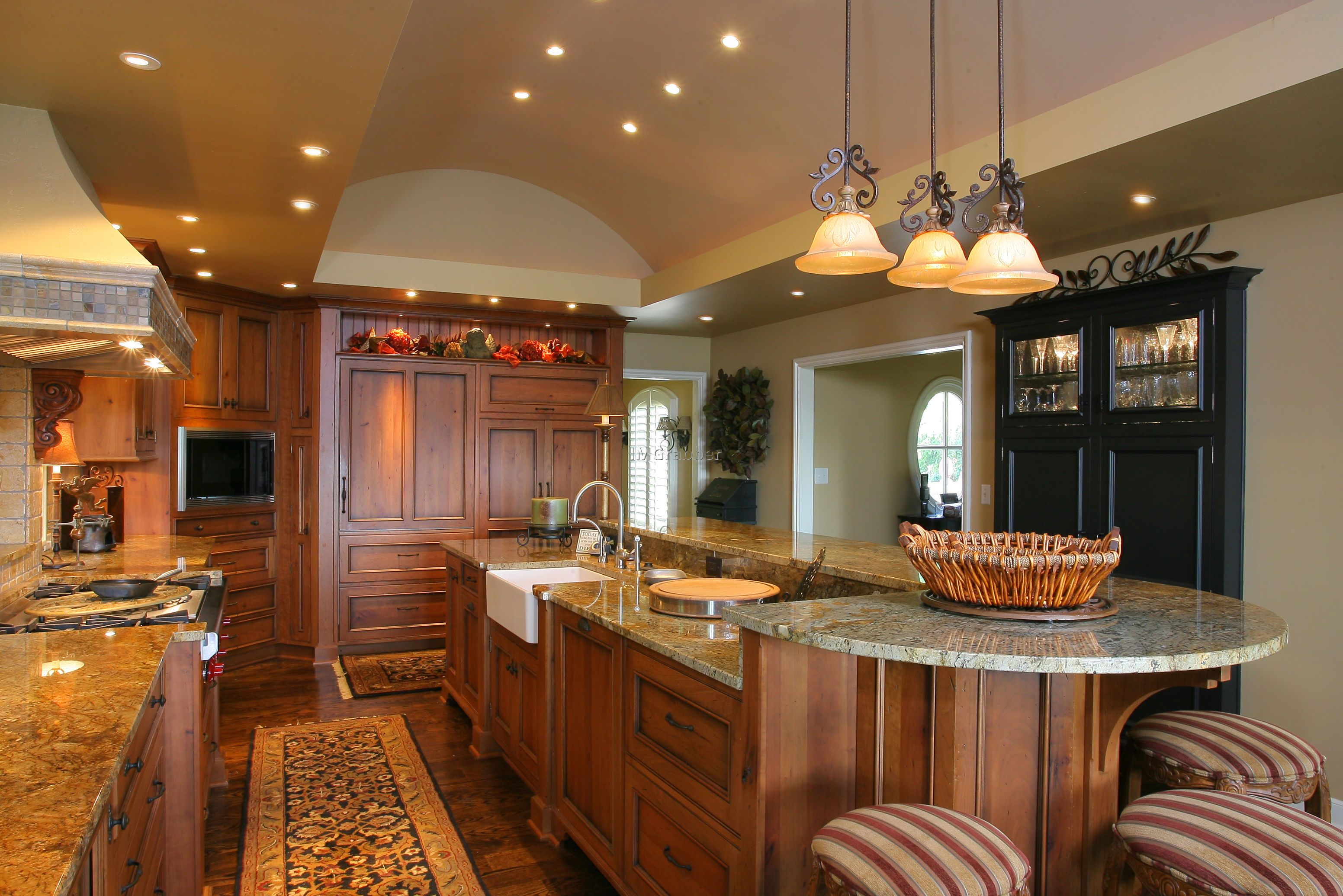 Two Level Kitchen Island Kitchen Island Designs With Seating