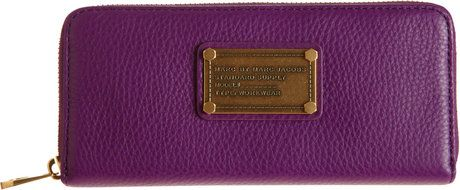Classic Q Slim Zip Wallet - Marc Jacobs