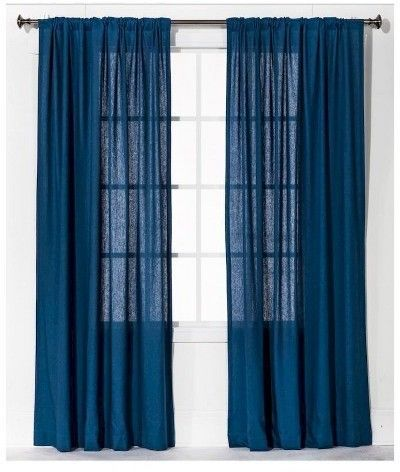 Linen Look Curtain Panel Threshold Products