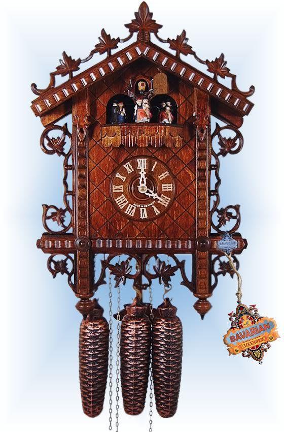 18th Century Rail 17 Cuckoo Clock Cuckoo Clock Clock Cuckoo