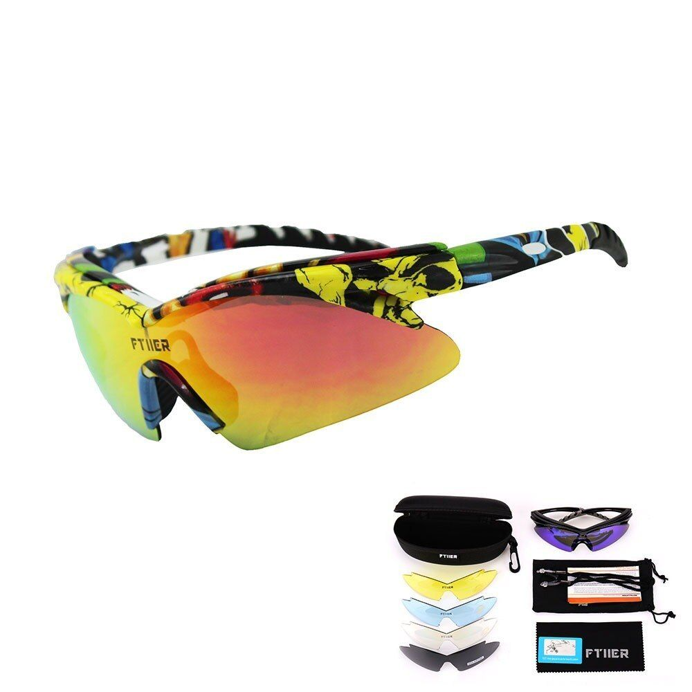 Fitter 2019 New Cycling Glasses Polarized Sun Glasses Outdoor