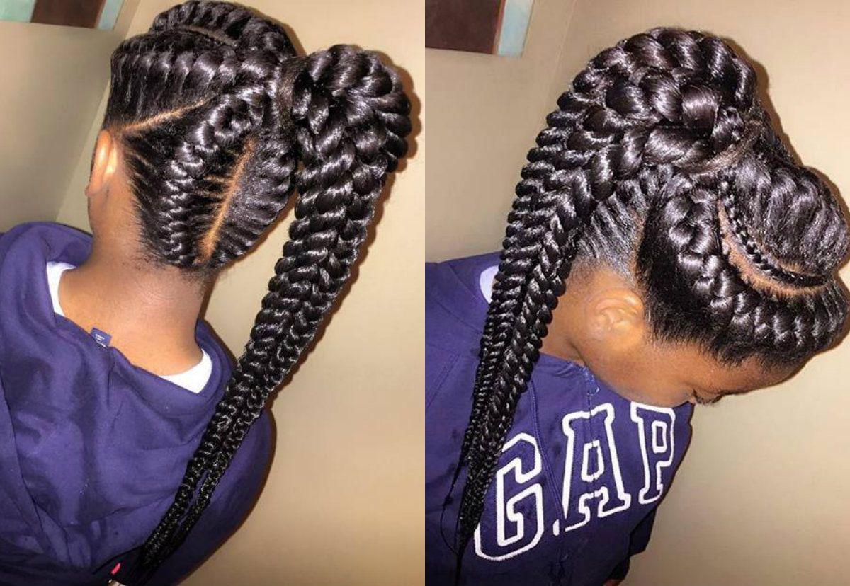Amazing African Goddess Braids Hairstyles Hairdrome Com Goddess Braids Hairstyles Braids Hairstyles Pictures Goddess Braids
