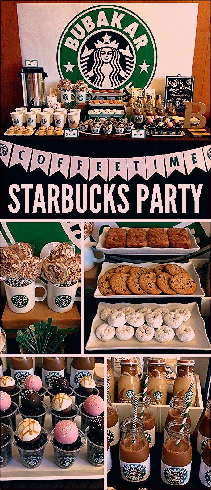 Photo of Eine Starbucks Coffee Dessert Bar mit einer Kaffeebar und Starbucks Cake Pops und …