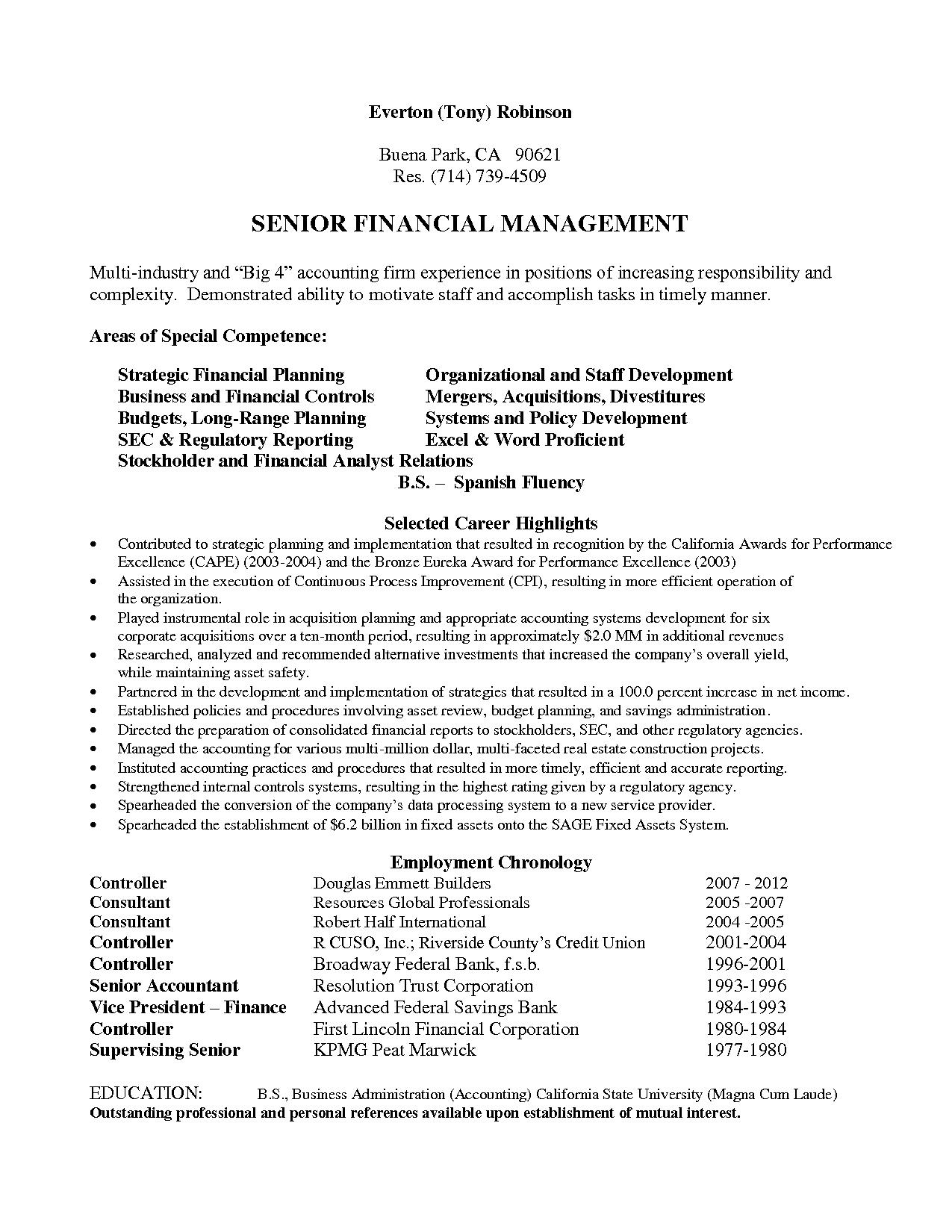 Big 4 Cv Template Resume Examples Professional Resume Examples Accountant Resume Resume Examples