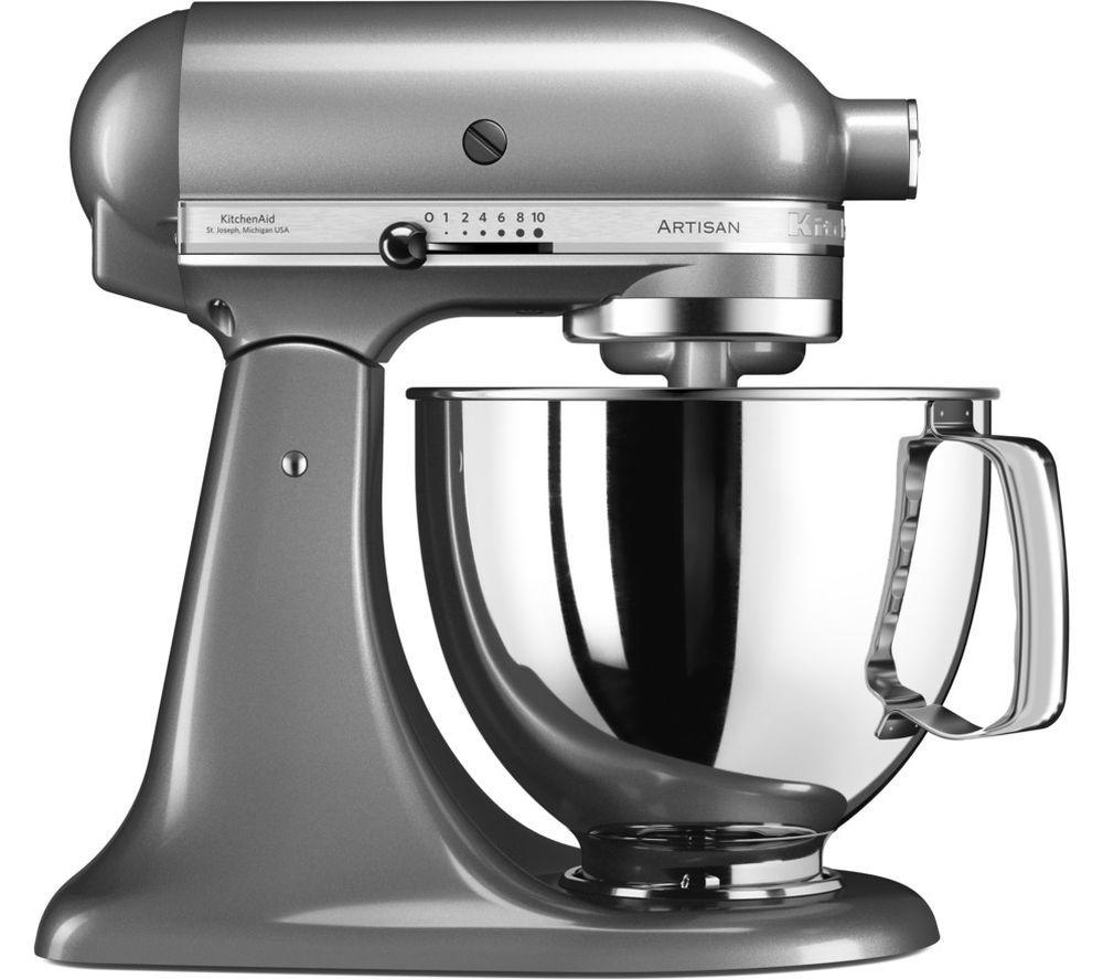 Kitchenaid artisan 5ksm125bcu stand mixer contour silver
