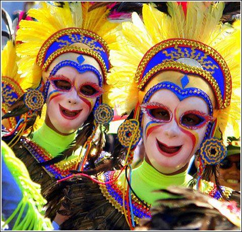 Colorful Masskara Festival Philippines Masskara Festival Philippines Beautiful Mask