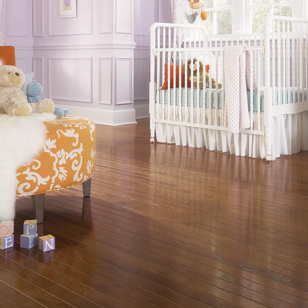 Blue Ridge Hardwood Flooring Oak Bourbon 3 4 In Thick X 2 1 Wide Random Length Solid 18 Sq Ft Case