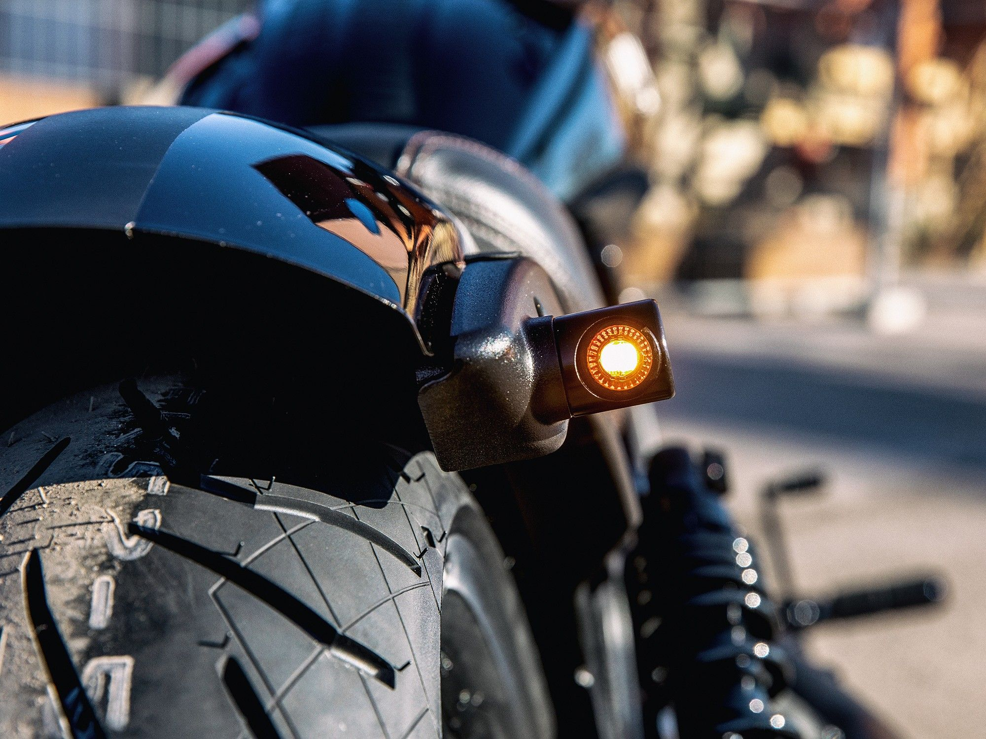 Indicator Taillight Combination 2stripes For Wing Indian Scout Bobber Tail Light [ 1500 x 2000 Pixel ]
