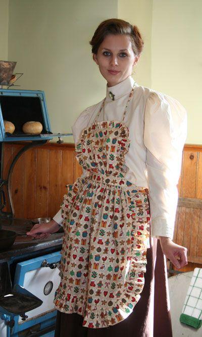 m nag re aprons pinterest tablier blouse nylon and blouse. Black Bedroom Furniture Sets. Home Design Ideas