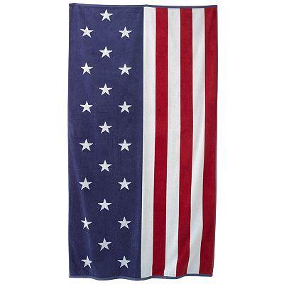 Sonoma Goods For Life Flag Beach Towel Beach Towel Flag