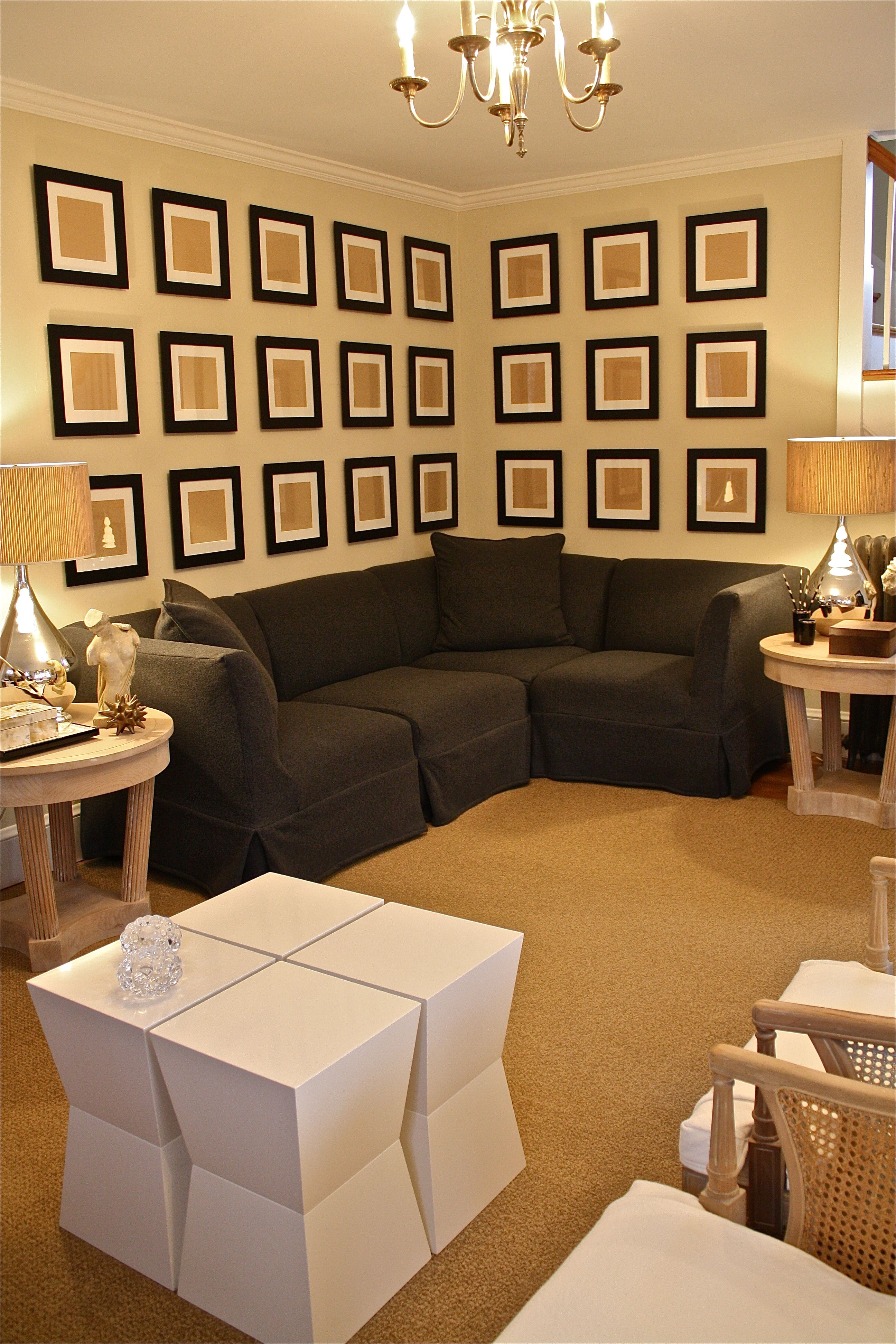 CS Dark gray sofa that looks good
