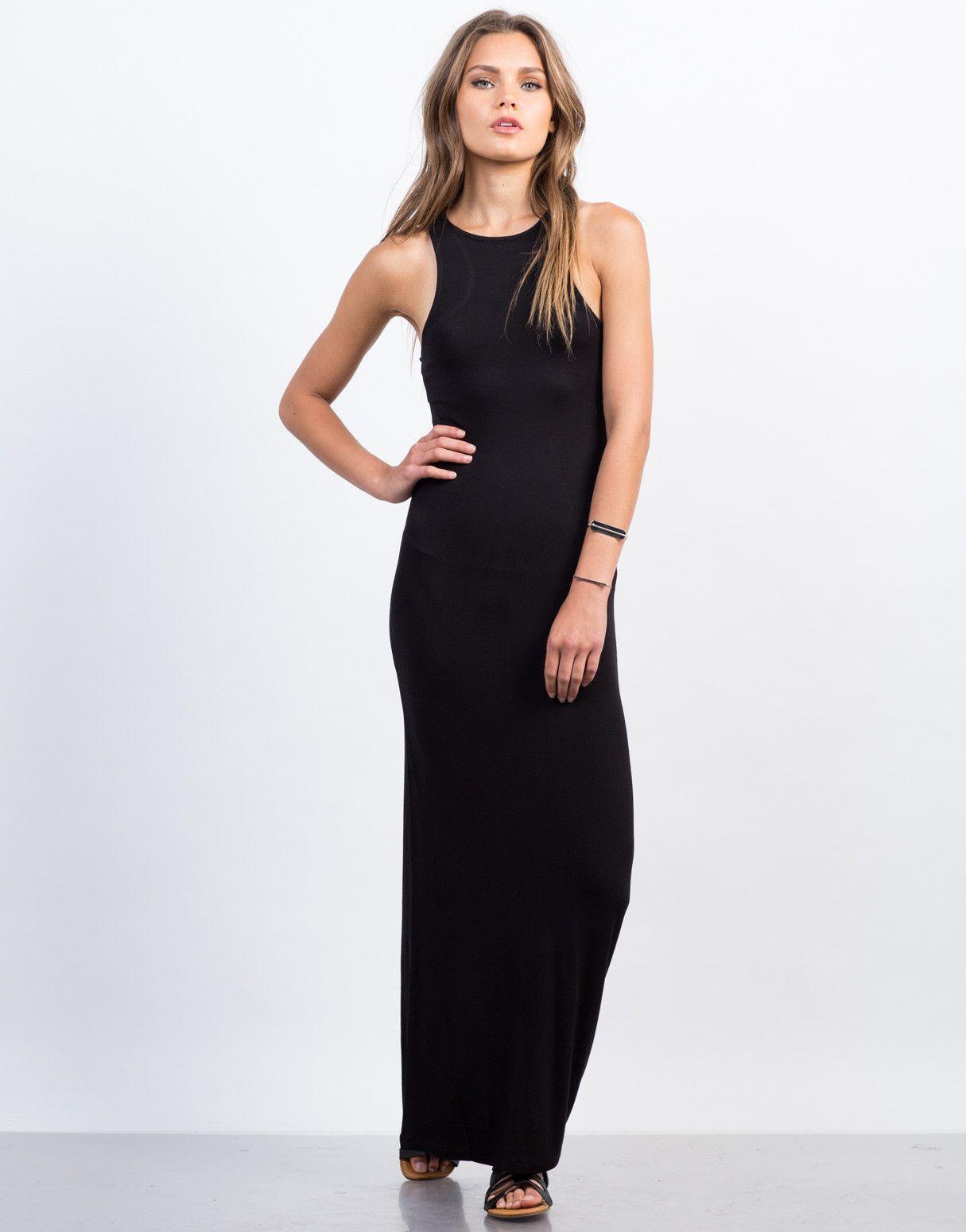Racerback Maxi Dress Maxi Dress Racerback Maxi Dress Simple Dresses [ 1550 x 1215 Pixel ]