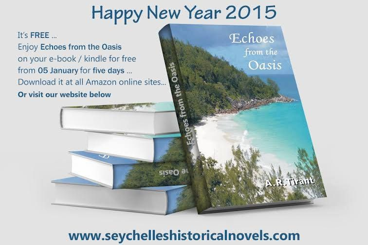 New year gifts. Free download from kindly only for 5 days from 5th to 10th Jan'15. or else visit our website http://seychelloushistoricalnovels.com