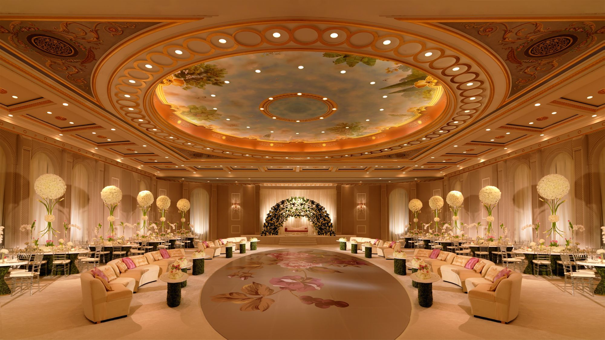 Stretch Ceiling Lighting | Banquet hall, Ritz carlton ...