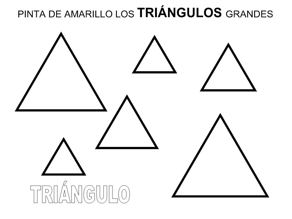Recursos Educacion Infantil El Triangulo Figuras Geometricas Para Preescolar Fichas Triangulos