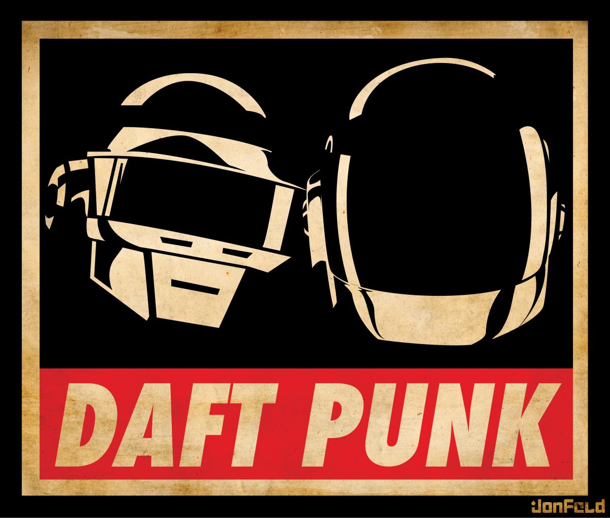 Obey Daft Daft Punk Daft Punk Poster Punk Bands Logos