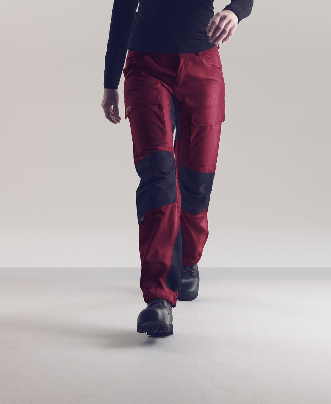cdf2d3ce Lundhags Authentic Pant A Pant with multifunctional and ecological approach  that is optimal for trekking.