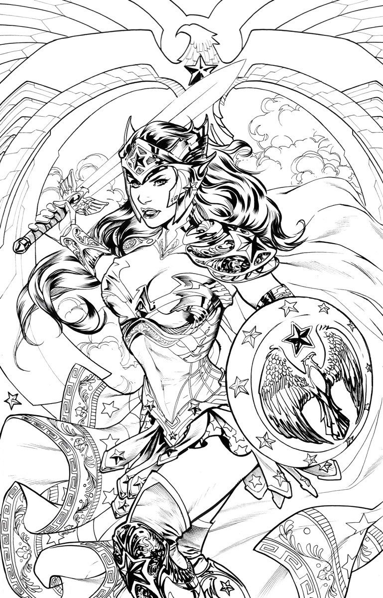 DC Comics Covers - Free to Color! | Adult coloring pages | Pinterest