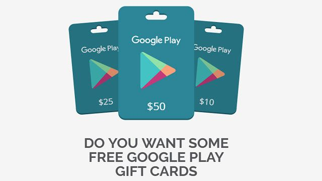 How To Get Free Google Play Gift Card Codes Google Play Gift