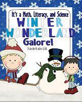 Winter Kindergarten Activities ... Fun Science Activities Included$1.00