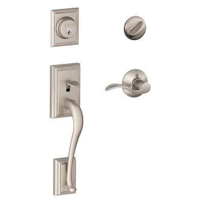 Unique Front Entry Lock Set