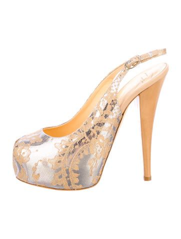 8fcfd3e30055 Giuseppe Zanotti Smizzica Platform Pumps w  Tags Bridal Shoes