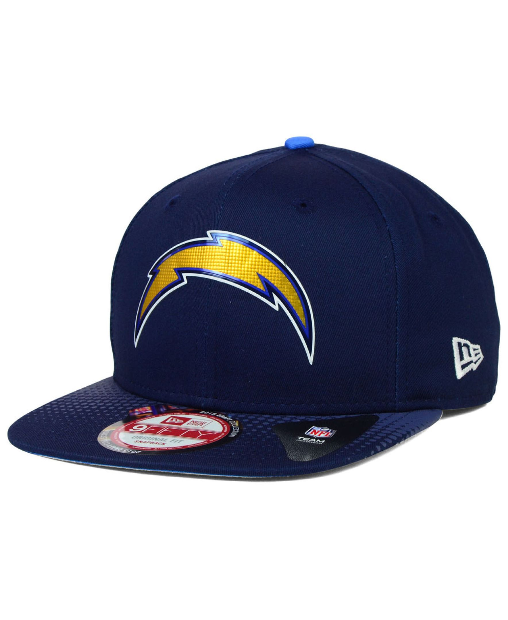 New Era San Diego Chargers 2015 Nfl Draft 9fifty Snapback Cap Con Imagenes Gorras