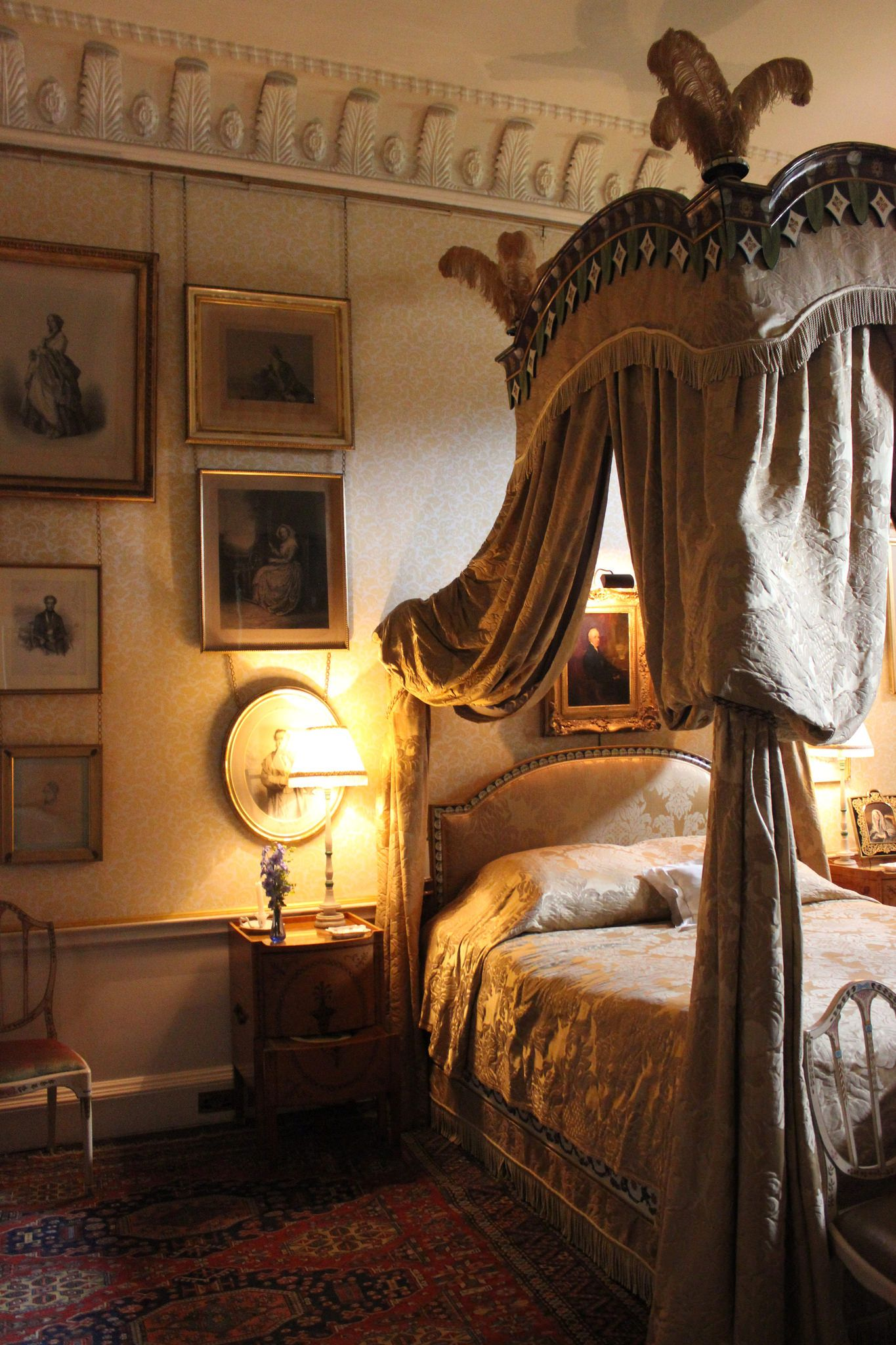 226 Antique canopy bed, Bed decor, Beauty bedrooms