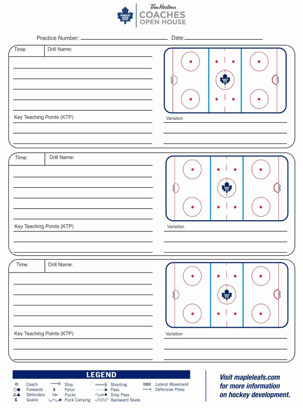 Blank Hockey Practice Plan Template 4 Professional Templates Basketball Practice Plans Basketball Practice Schedule Template