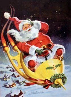 50's Christmas Card